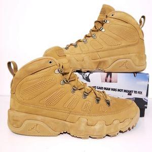 Jordan 9 Retro NRG Boot Wheat 👢 Men's 12